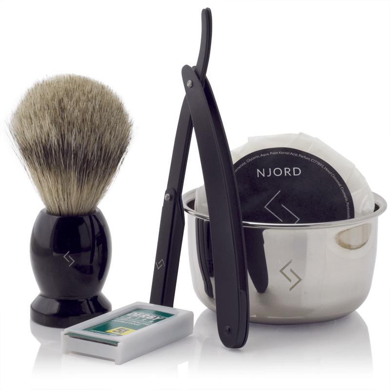 Njord Male Grooming - Shavette Starter Kit