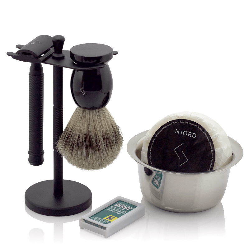 Njord Male Grooming - DE Razor Kit