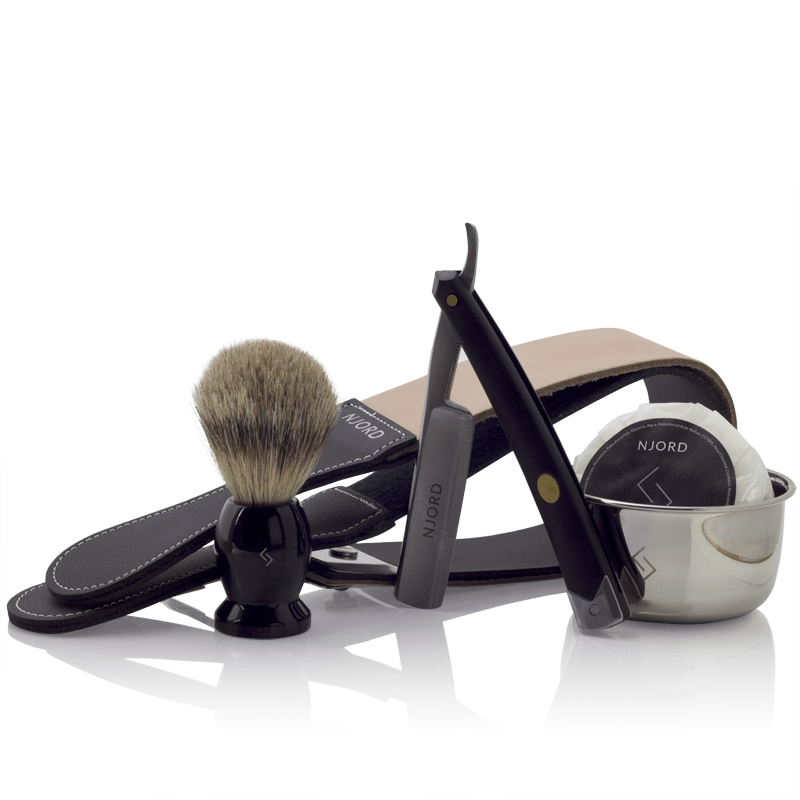 Njord Male Grooming - Straight Razor Kit