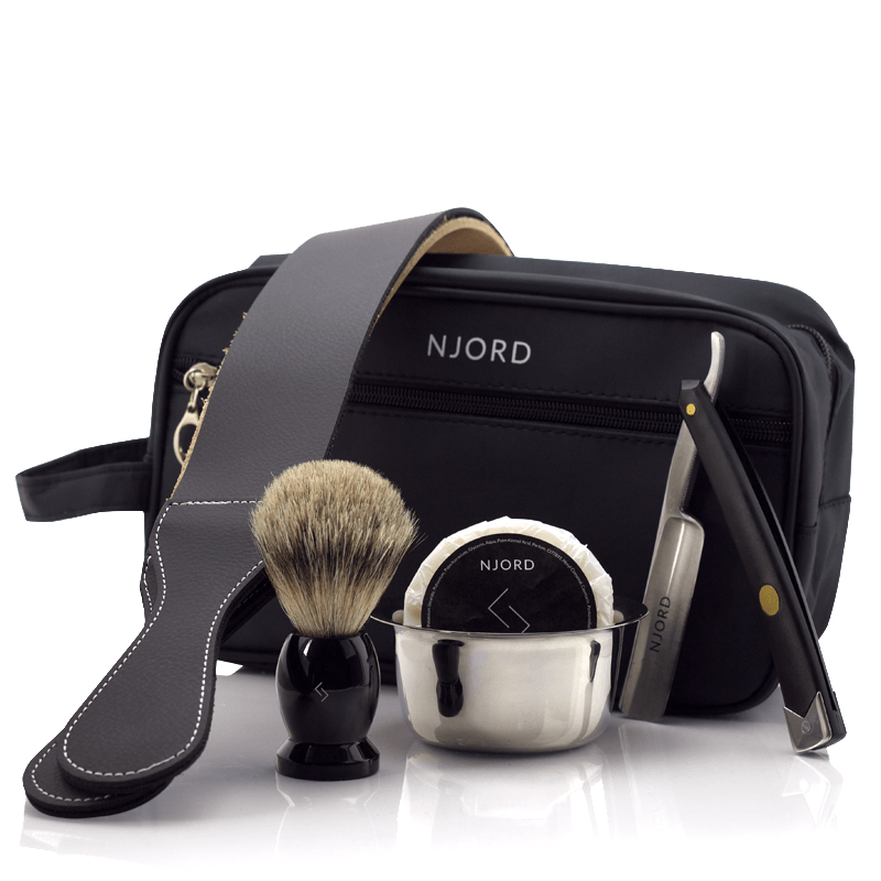 Njord Male Grooming - Straight Razor Kit - Home