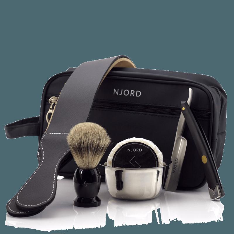 Njord Male Grooming - Straight Razor Kit - Home
