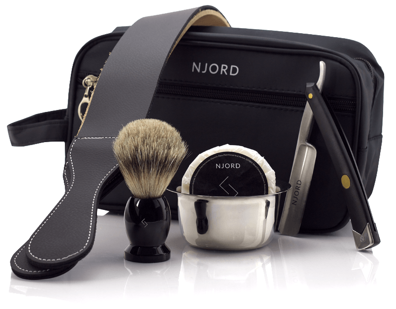 Njord Male Grooming - Straight Razor Kit - About Njord