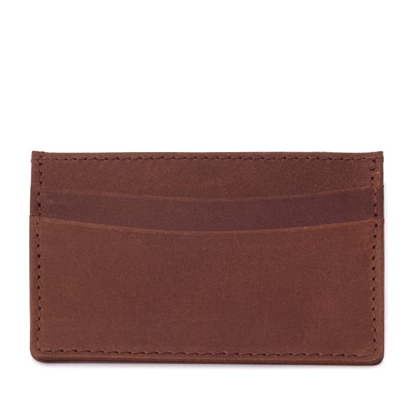 Njord Male Grooming - Card Holder Slim (Cognac)