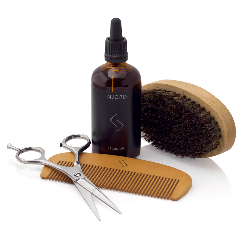 Njord Male Grooming - Beard KIt